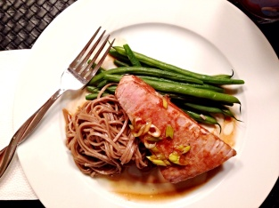Dinner tonight - Seared Tuna