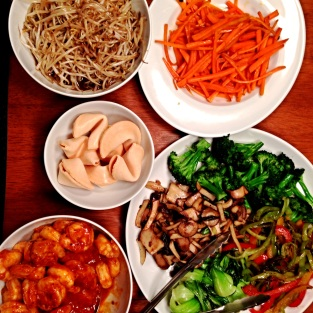 Homemade Takeout Ready to Assemble
