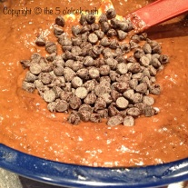 Mixed together & Add the Chocolate Chips