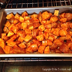 Buffalo Chicken and Loaded Potato Bake