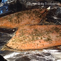 Oven Roasted Rainbow Trout