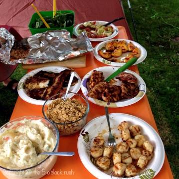 DSLR Dinner Spread