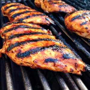 Grilled Chicken Breast with Pulo Cuisine