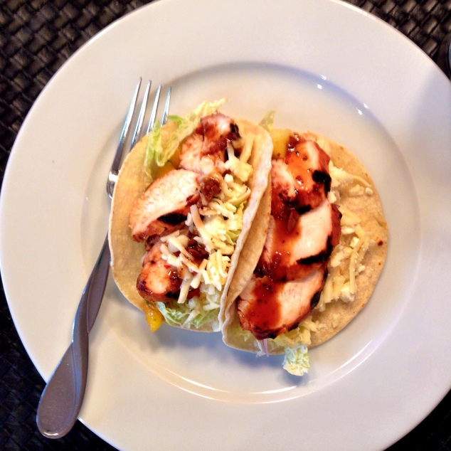Pineapple Tamarind Marinated Chicken Tacos with Grilled Pineapple