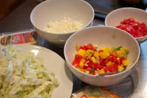 Taco Bar Mise En Place