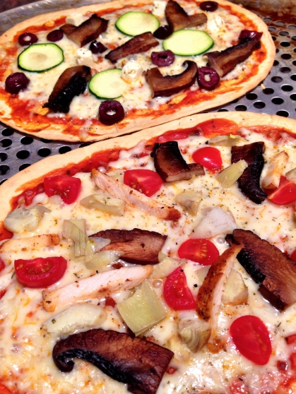 Flatbread Pizza for Make-Your-Own Pizza Night