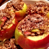 Stuffed Apples Ready for the Oven