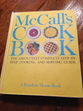 McCall's Cookbook the sixth printing published in 1963