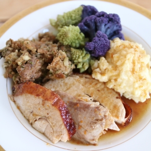 Thanksgiving Plate for 2017