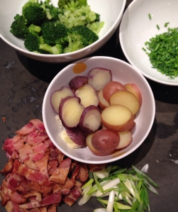 Toppings Mise En Place