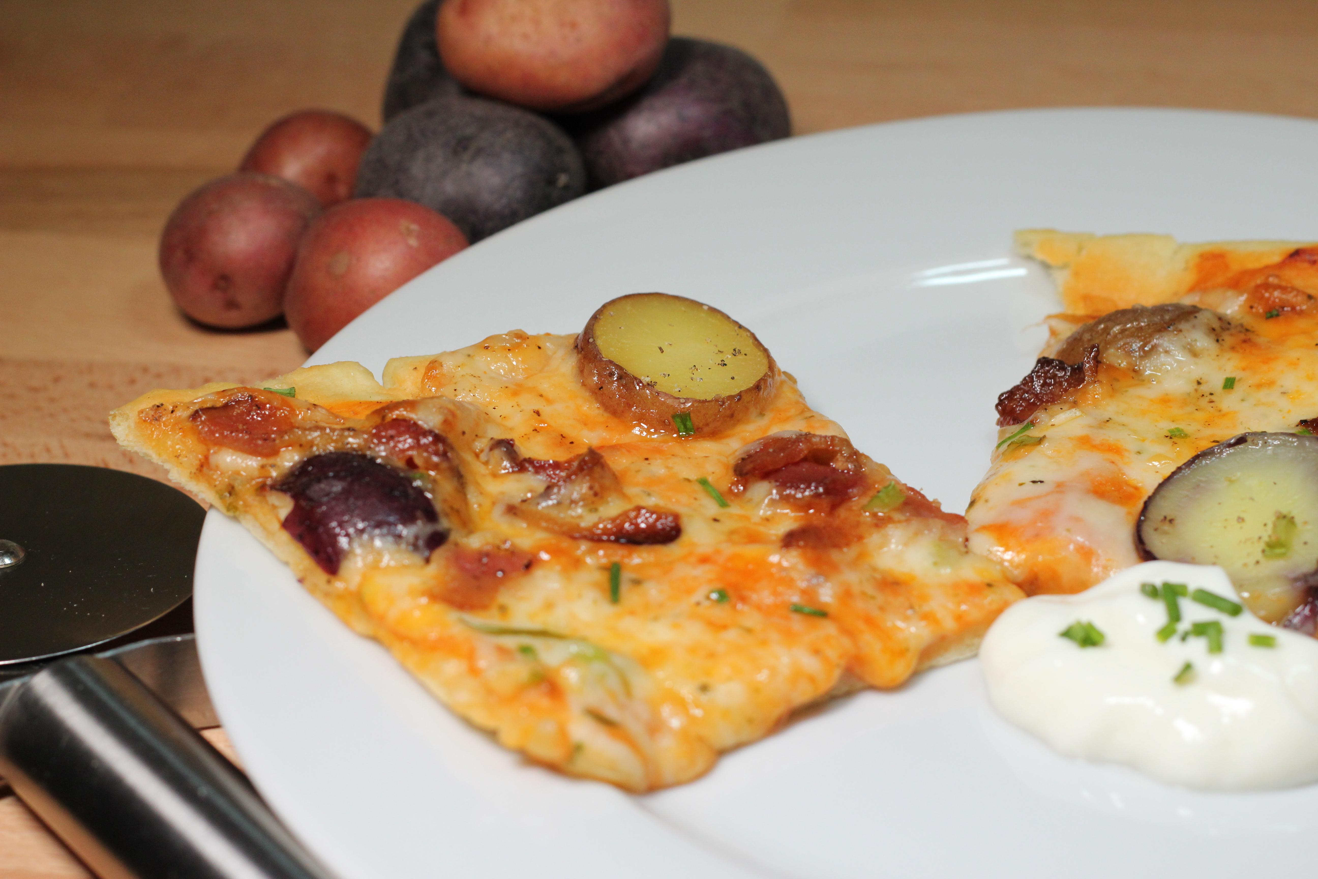 Loaded 'Baked' Potato Pizza | the 5 o'clock rush