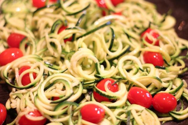 """Zucchini """"Pasta"""""""