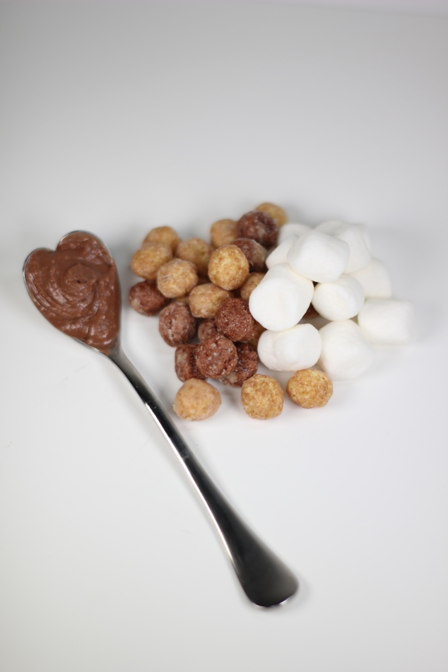 Reese® Peanut Butter Chocolate Spread, Marshmallows and Reese® Puffs Cereal