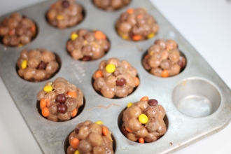 Reese® Peanut Butter Chocolate Puffs Treats #DoYouSpoon